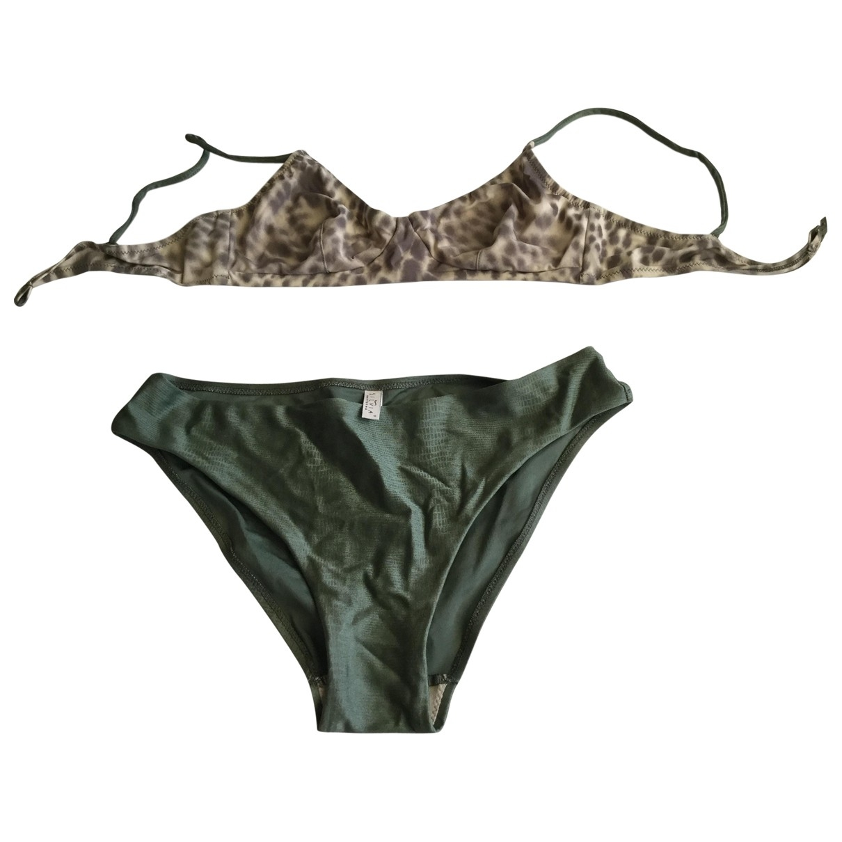 Non Signé / Unsigned \N Green Swimwear for Women \N