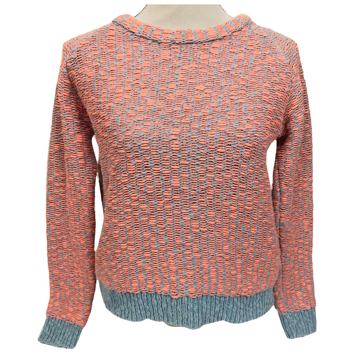 Calvin Klein - Pull   pour femme en coton - orange