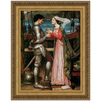 DA2794 36.5X47 Tristan And Isolde