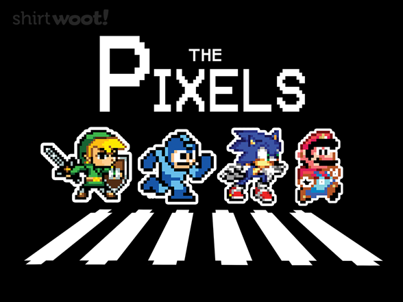 The Pixels T Shirt