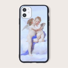 Angel Print iPhone Case