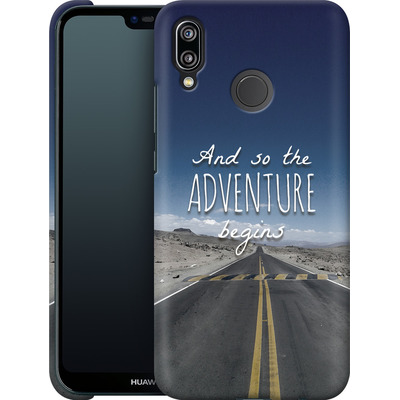 Huawei P20 Lite Smartphone Huelle - And so the Adventure Begins von Joel Perroden