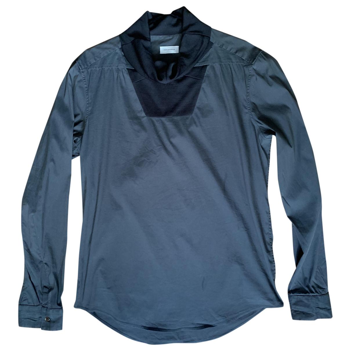 Balenciaga - Chemises   pour homme en coton - gris