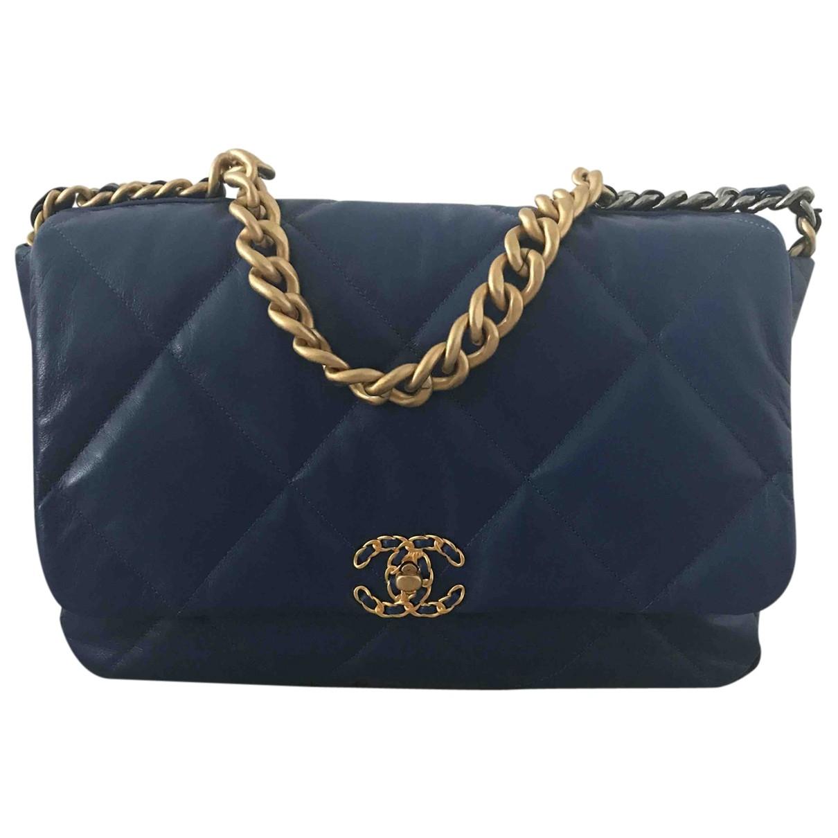 Bolso  Chanel 19 de Cuero Chanel