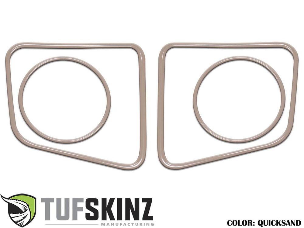 Tufskinz TUN006-GTN-G Fog Light Accent Kit Fits 14-up Toyota Tundra 4 Piece Kit Quicksand Tan