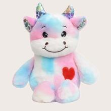 Tie Dye Unicorn Fluffy Backpack