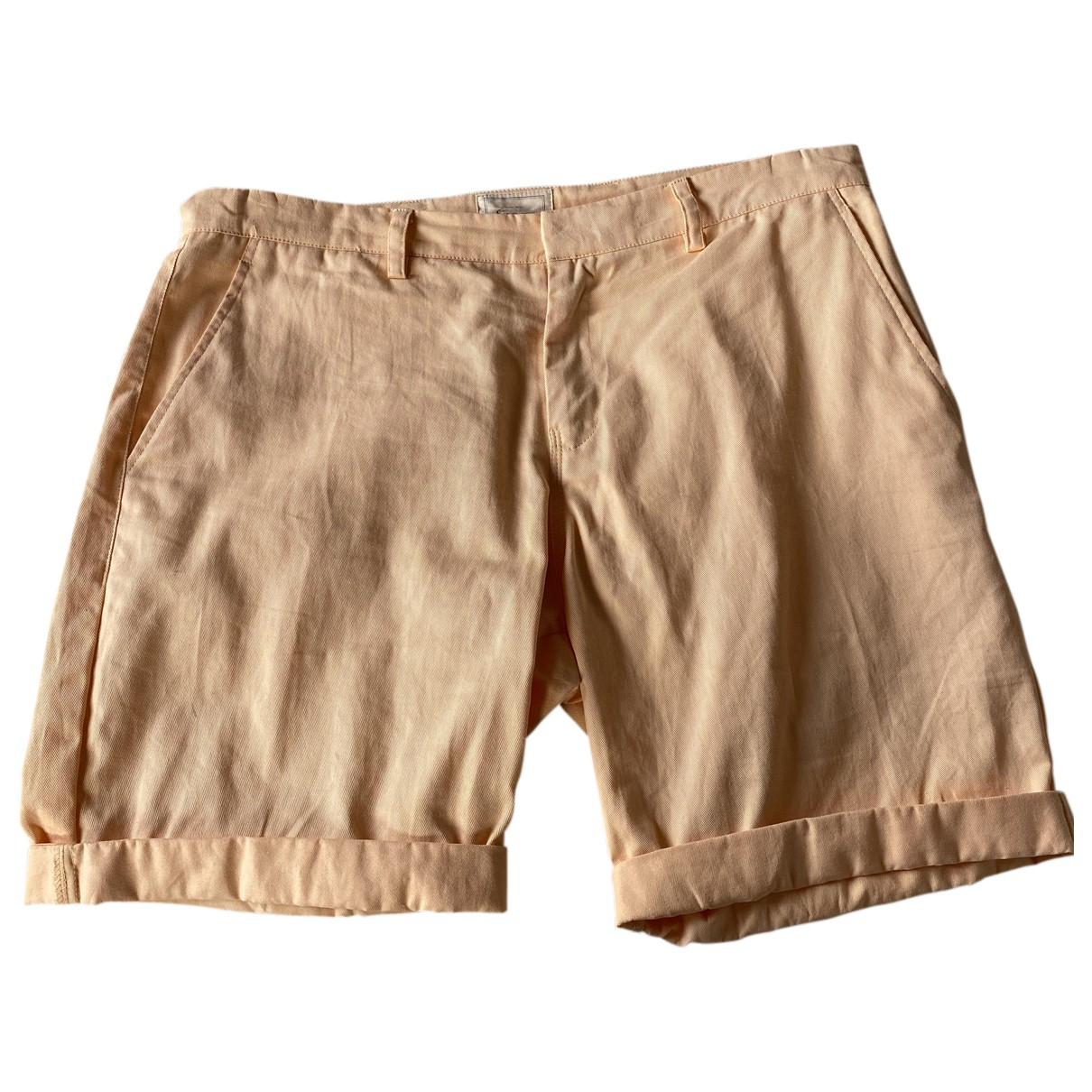 Autre Marque N Pink Cotton Shorts for Men 36 UK - US