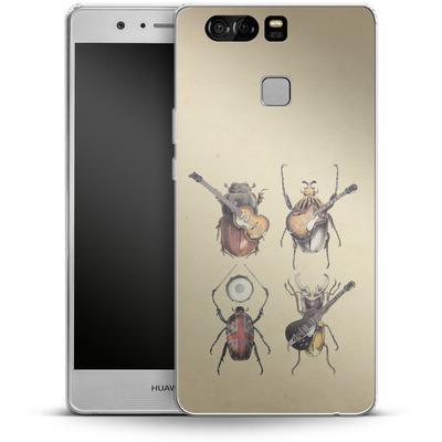 Huawei P9 Silikon Handyhuelle - Meet The Beetles von Eric Fan