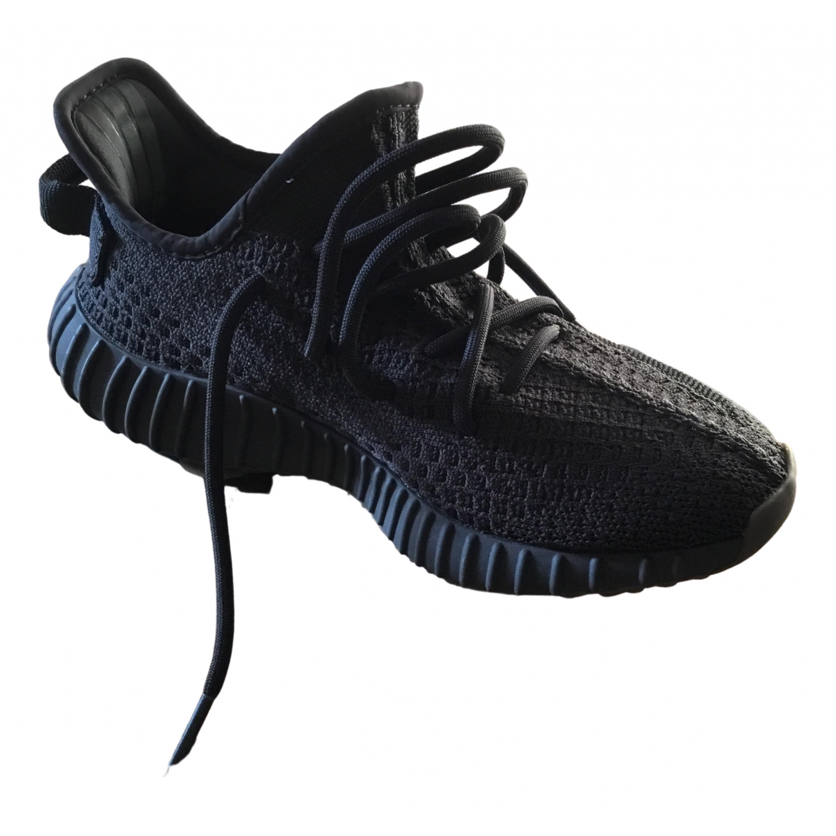 Yeezy X Adidas Boost 350 V2 Black Trainers for Women 4 UK