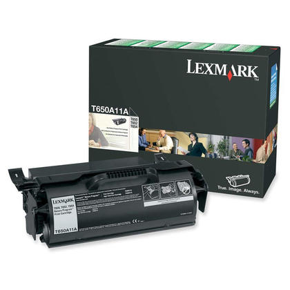Lexmark T650A11A Original Black Toner Cartridge