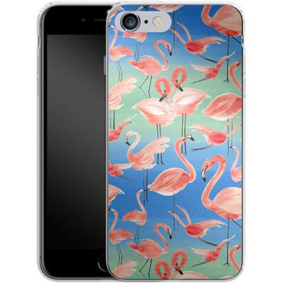 Apple iPhone 6s Plus Silikon Handyhuelle - Flamingo Pink von Ninola Design