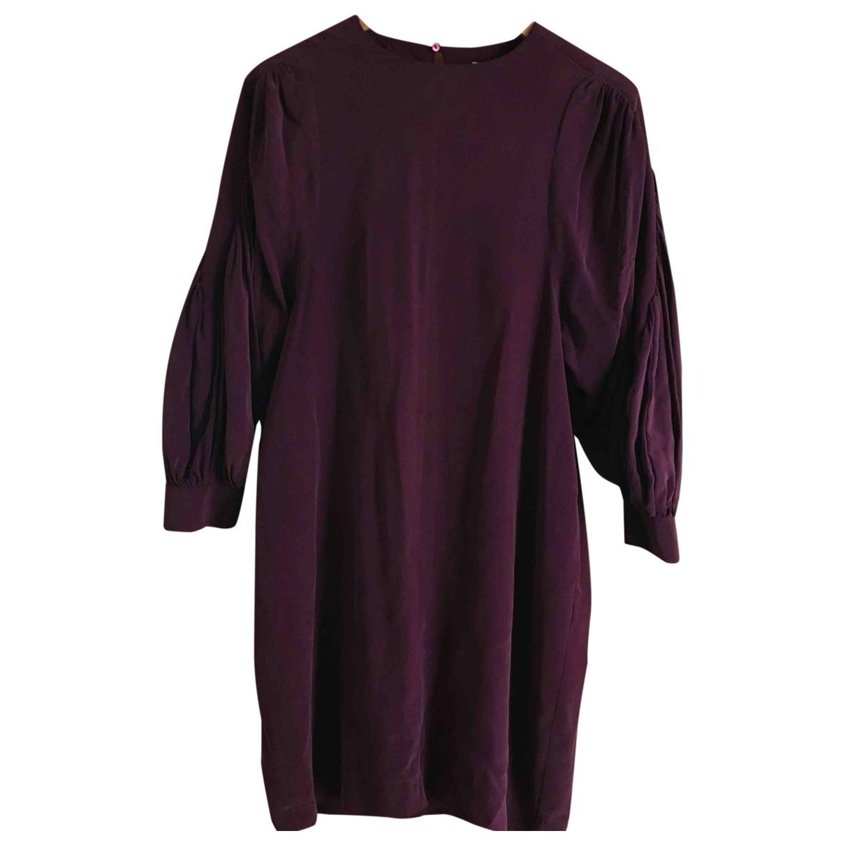 See By Chloe - Robe   pour femme en soie - violet