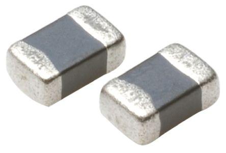 TDK MLF Series 100 μH ±10% Ferrite Multilayer SMD Inductor, 0805 (2012M) Case, SRF: 12MHz Q: 25 2mA dc 3.1Ω Rdc (10)