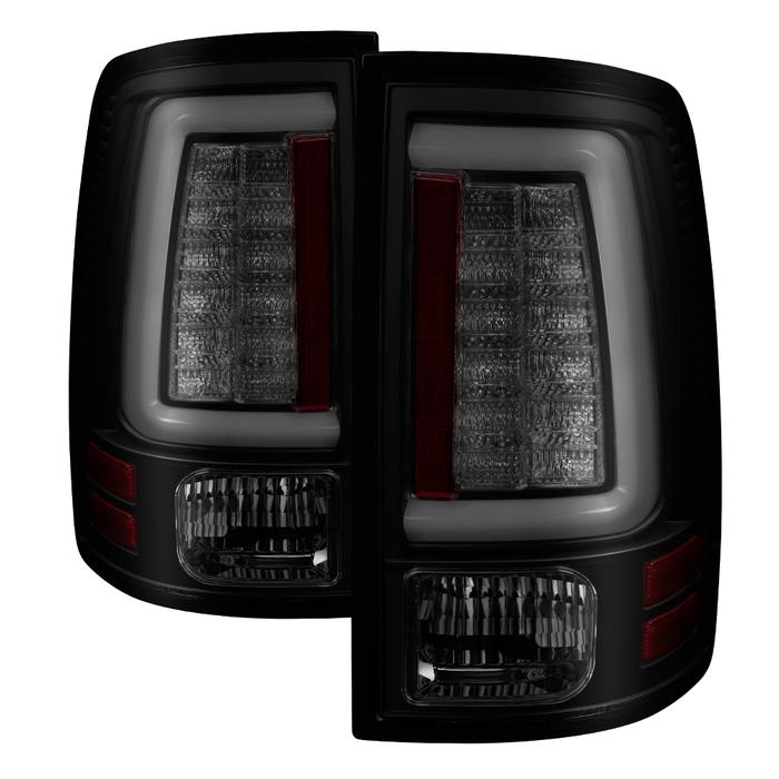 Spyder Auto ALT-YD-DRAM09V2-LED-BSM Light Bar LED Tail Lights Black Smoke Ram 1500 | 2500 | 3500 09-17