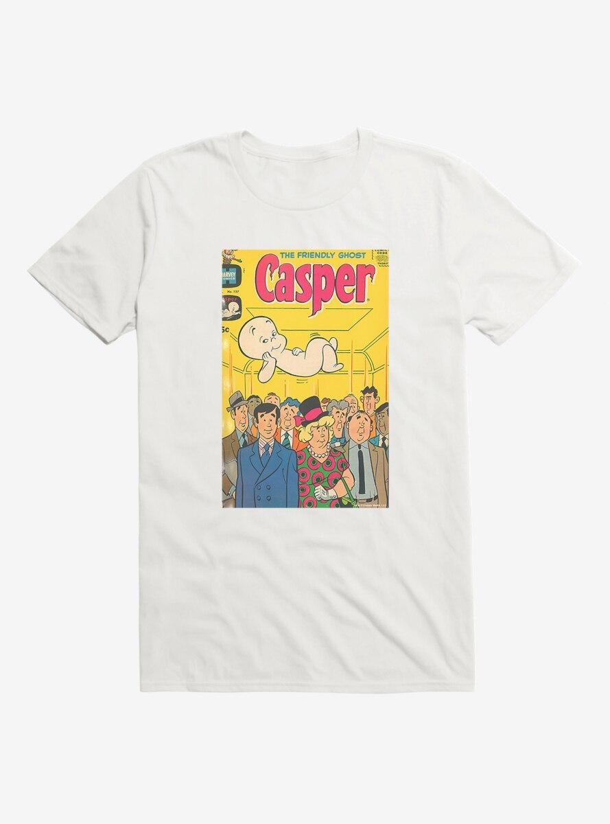 Casper The Friendly Ghost Bus Ride Comic Cover T-Shirt
