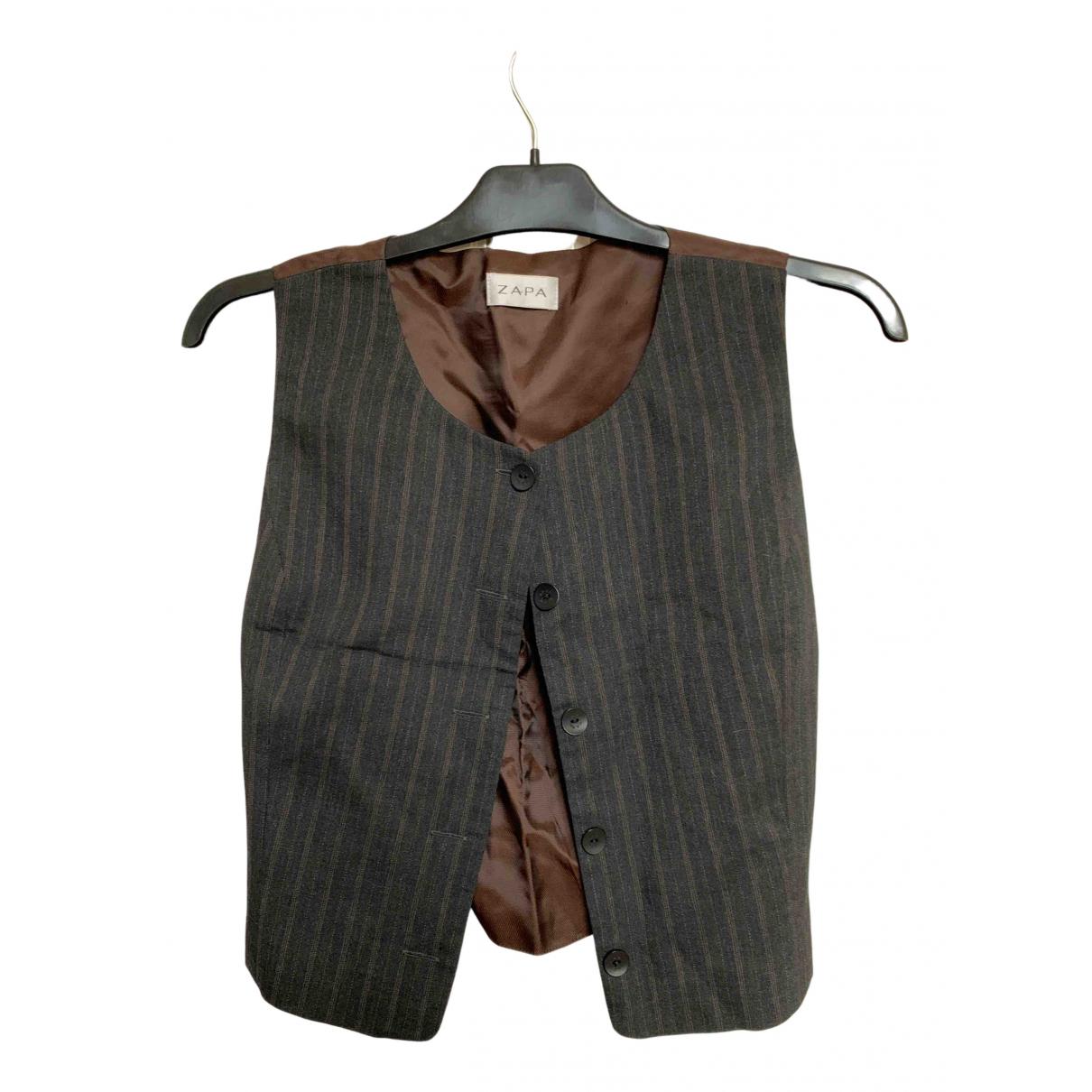 Zapa N Brown Knitwear for Women 36 FR