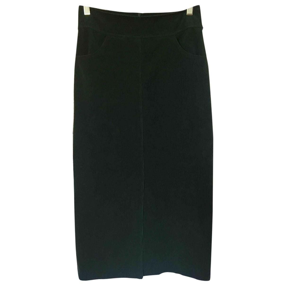 The Frankie Shop - Jupe   pour femme en coton - vert