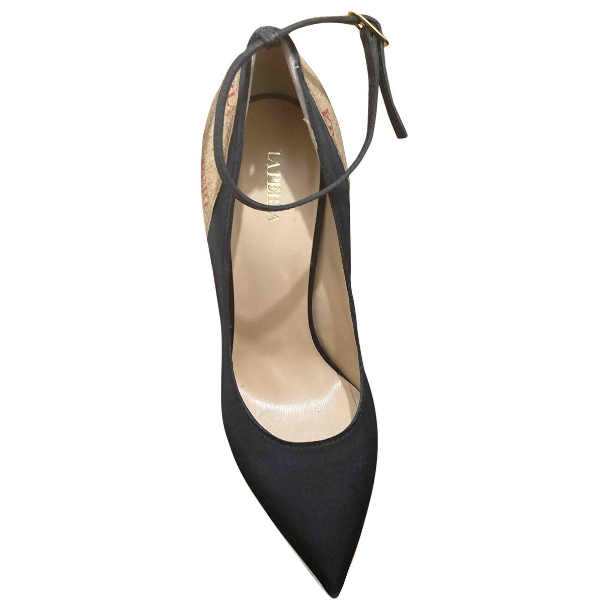 La Perla \N Black Cloth Heels for Women 39 EU