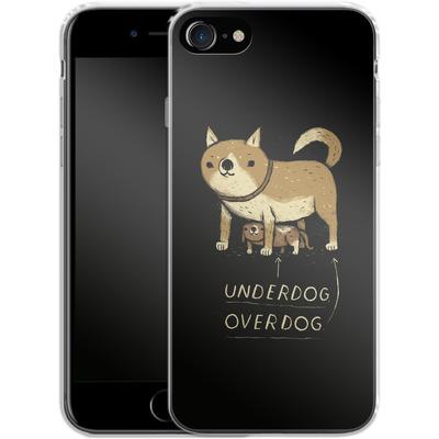 Apple iPhone 7 Silikon Handyhuelle - Underdog Overdog von Louis Ros