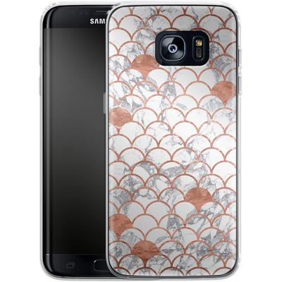 Samsung Galaxy S7 Edge Silikon Handyhuelle - Little Mermaid von caseable Designs