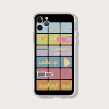 Cosmetic Pattern iPhone Case