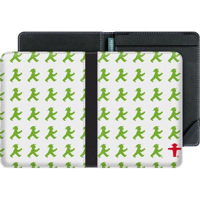 tolino vision 3 HD eBook Reader Huelle - Green AMPELMANN Pattern von AMPELMANN