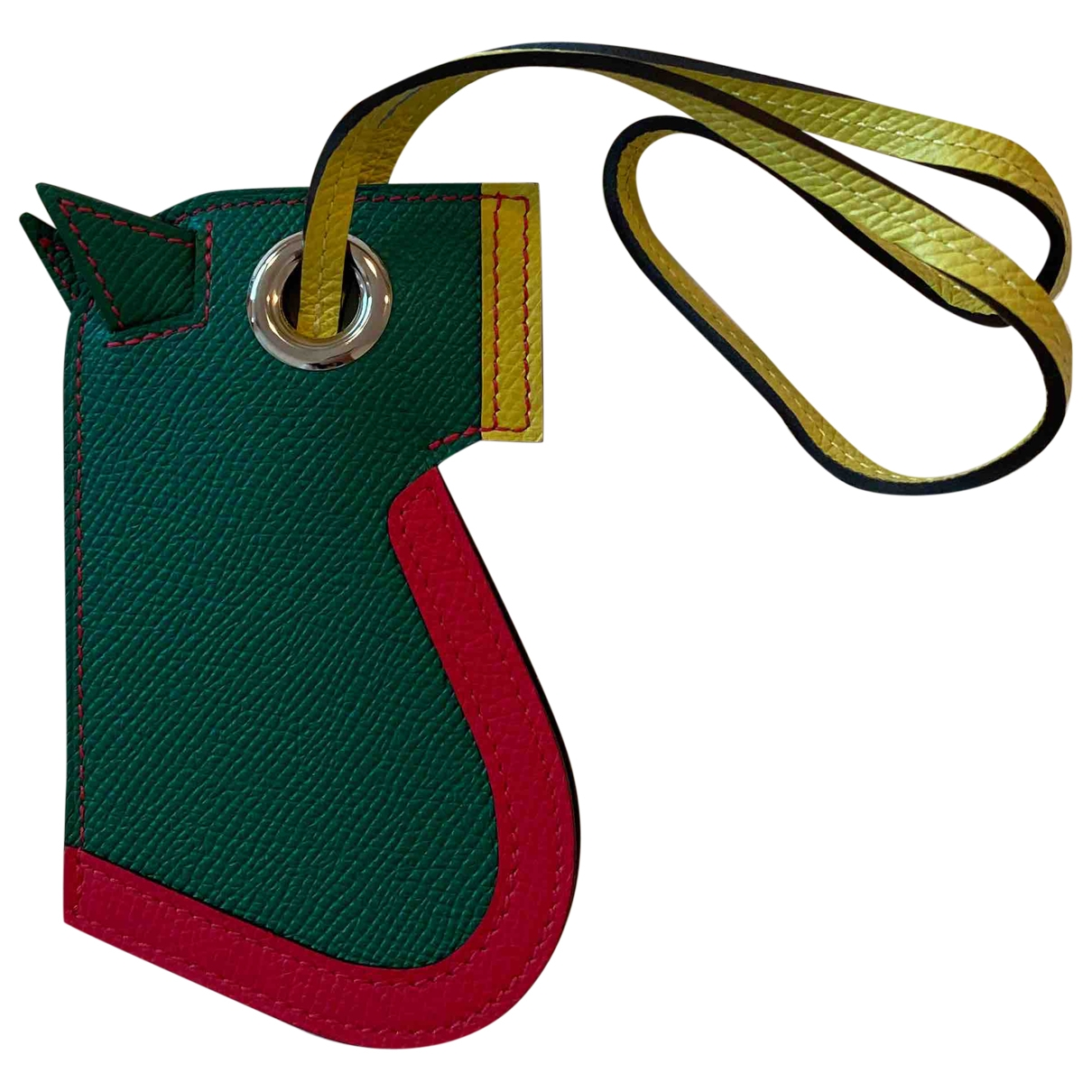 Hermès \N Green Leather Bag charms for Women \N