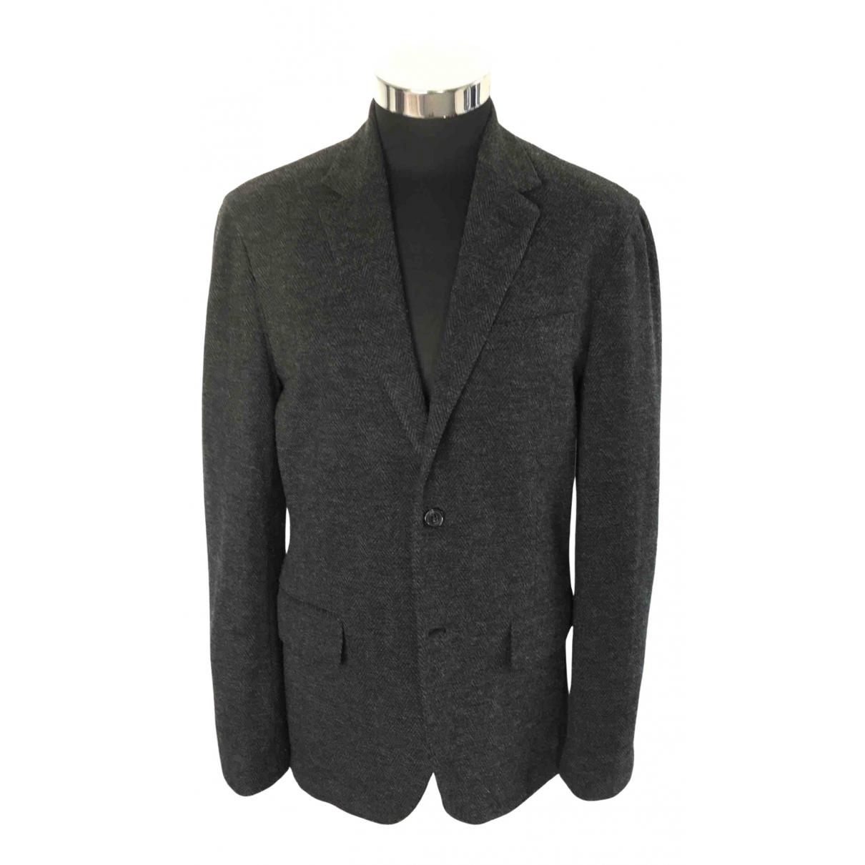 Polo Ralph Lauren - Vestes.Blousons   pour homme en coton - anthracite