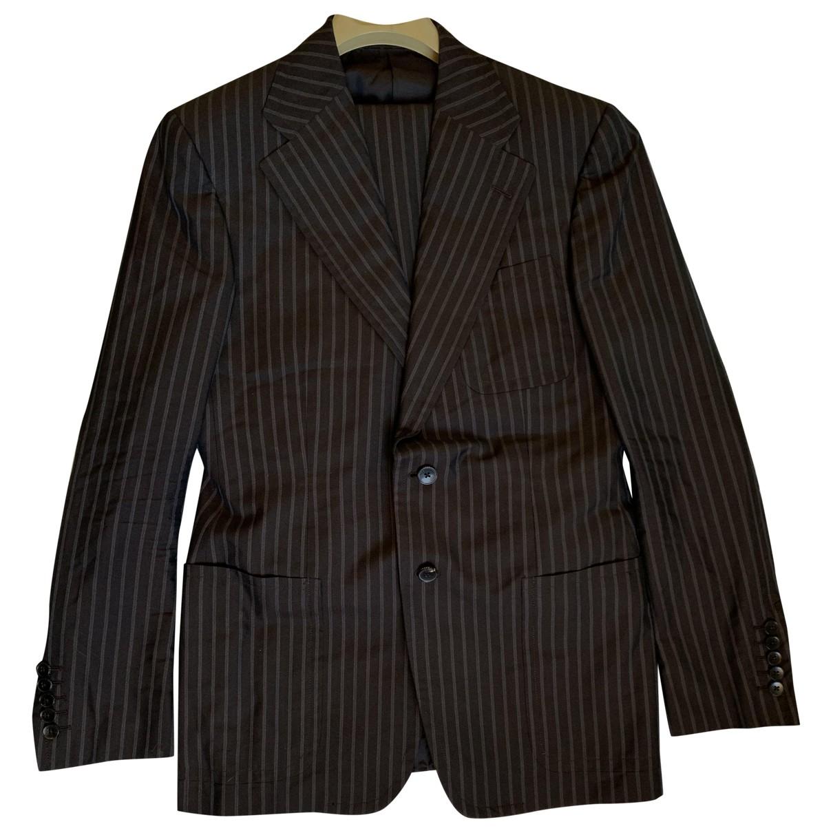 Gucci - Costumes   pour homme en coton - marron