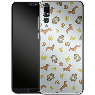 Huawei P20 Pro Silikon Handyhuelle - Germany von caseable Designs