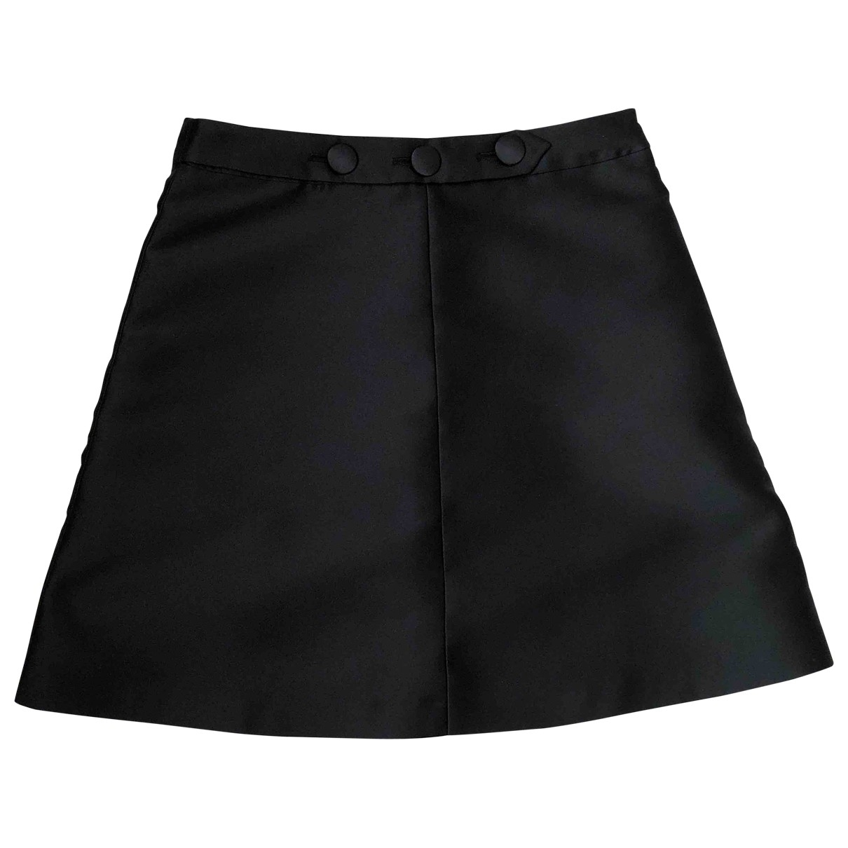 Red Valentino Garavani \N Black skirt for Women 40 IT