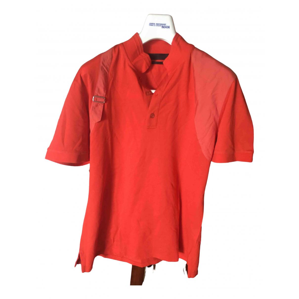 Alexander Mcqueen - Polos   pour homme en coton - orange