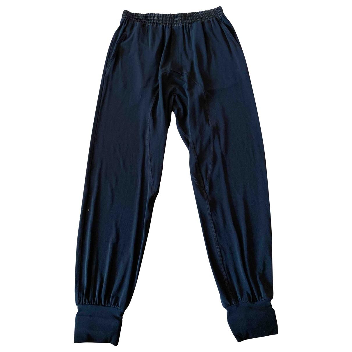 Pantalon en Viscosa Negro Neil Barrett