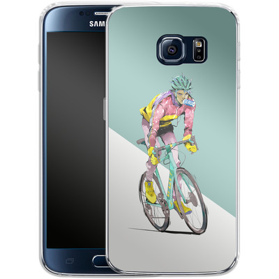 Samsung Galaxy S6 Silikon Handyhuelle - Bikero von Boell Oyino