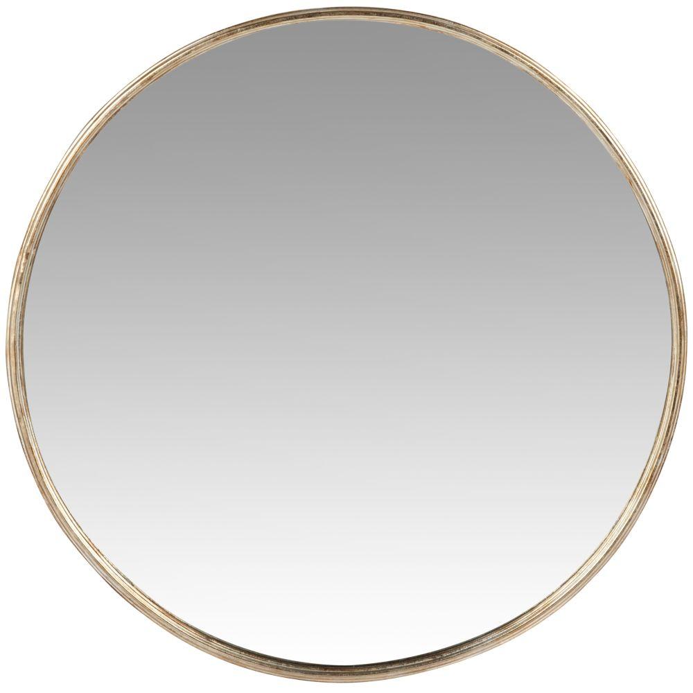 Runder Spiegel mit Metallrahmen D71