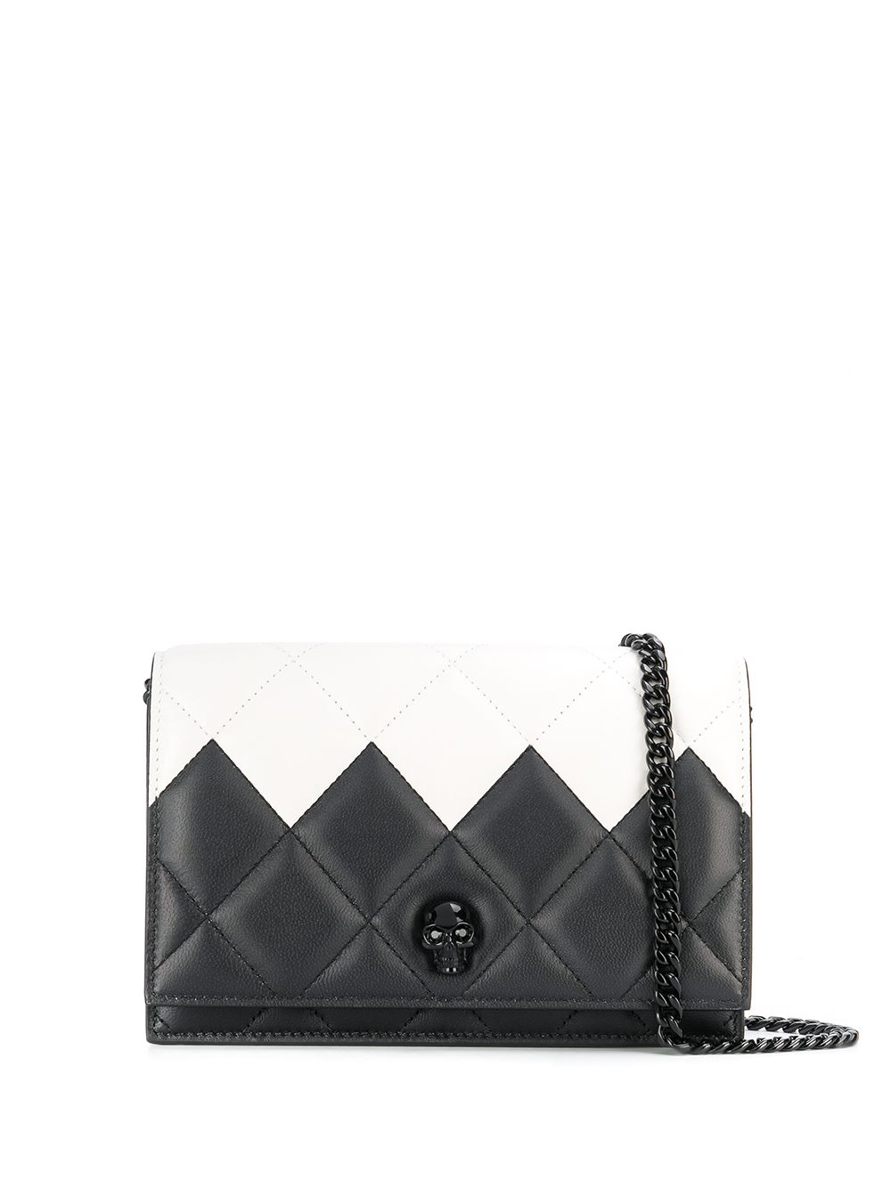 Skull Small Leather Bag