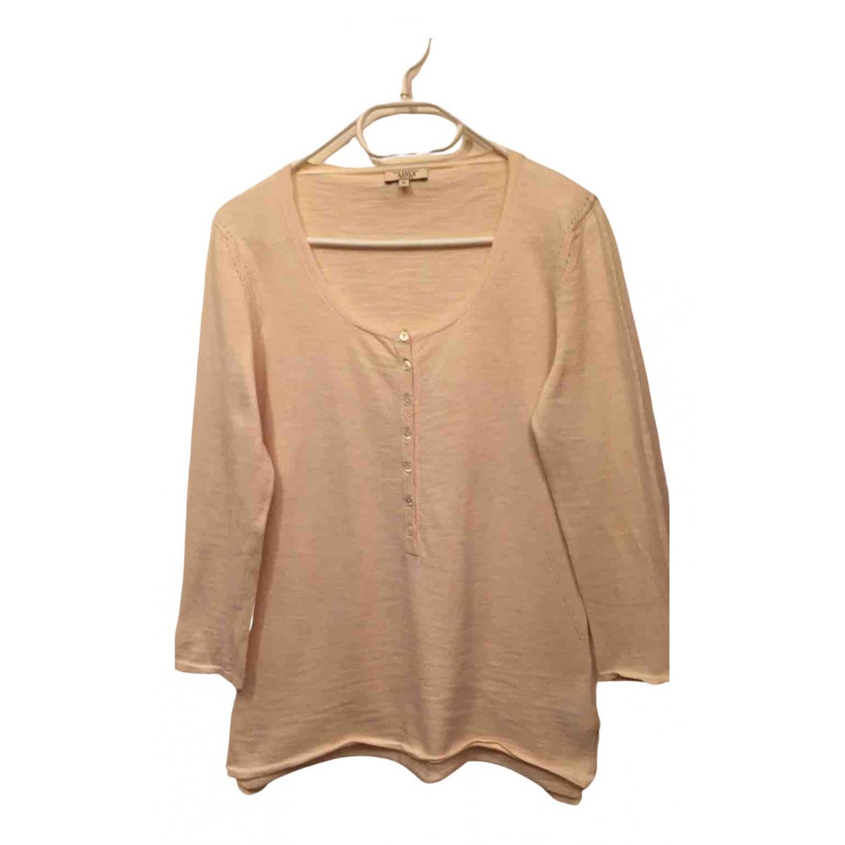 Aigle N Ecru Cotton Knitwear for Women 40 FR
