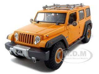 Jeep Rescue Concept Orange 1/18 Diecast Model Car by Maisto