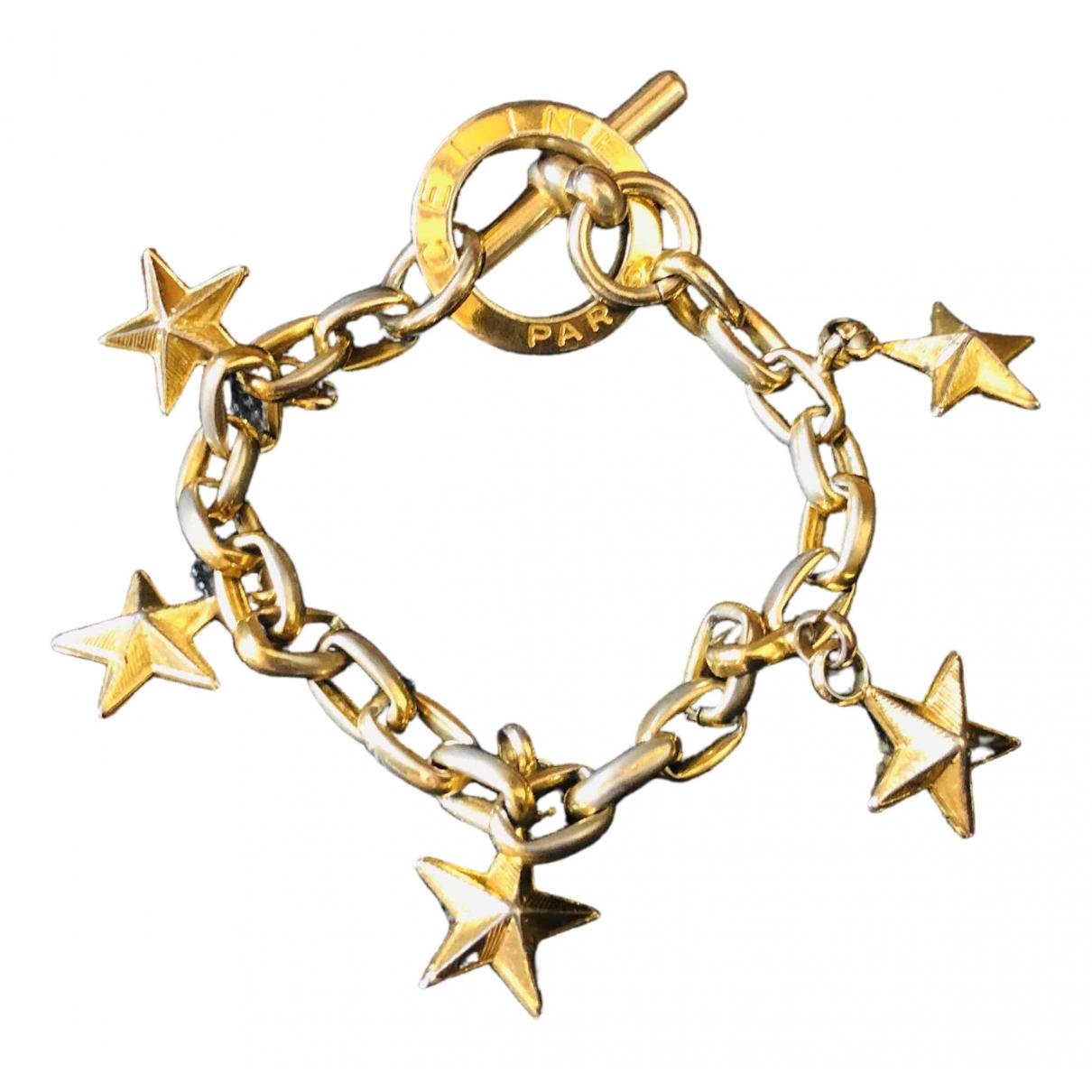 Celine - Bracelet   pour femme en metal - dore
