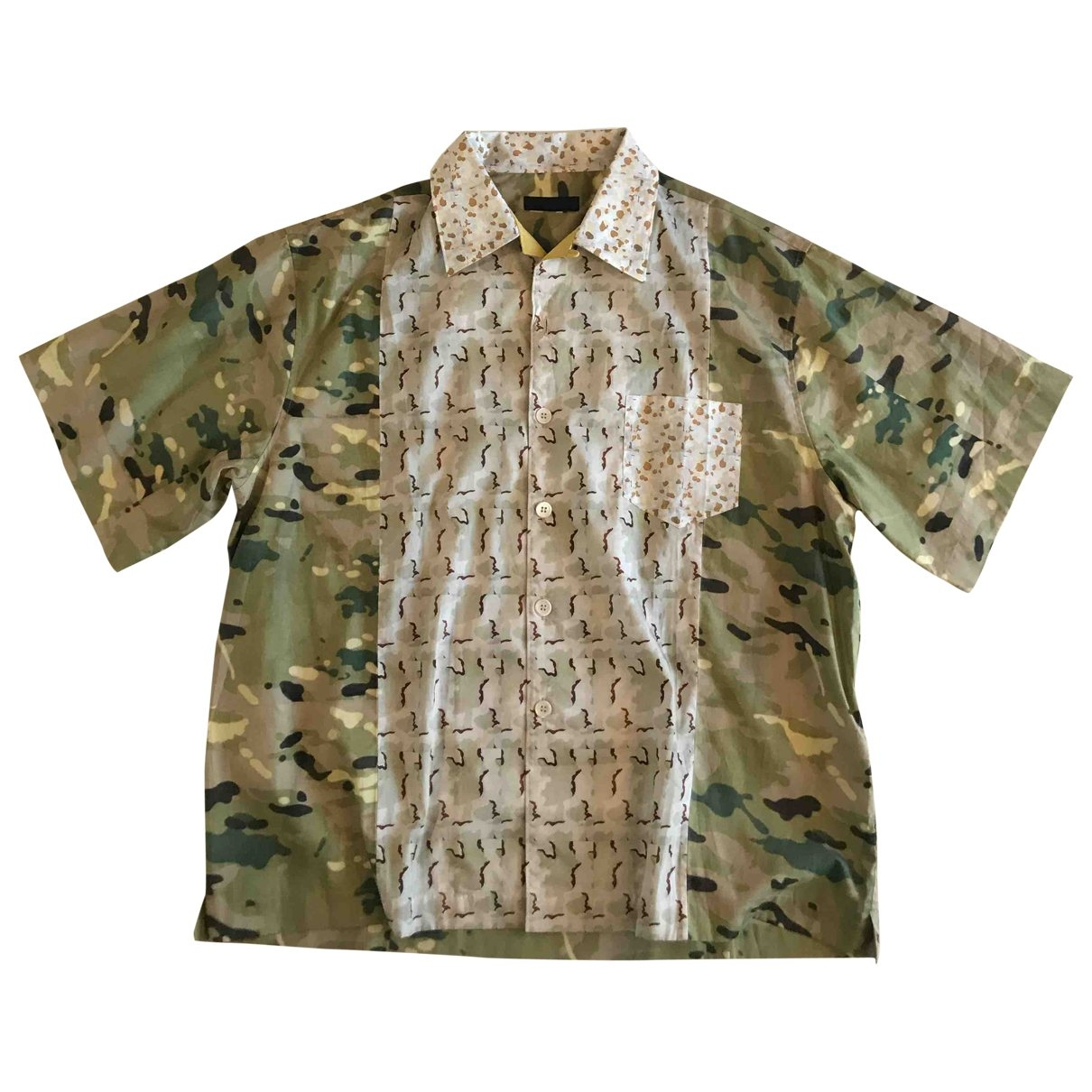 Prada \N Cotton Shirts for Men XXL International