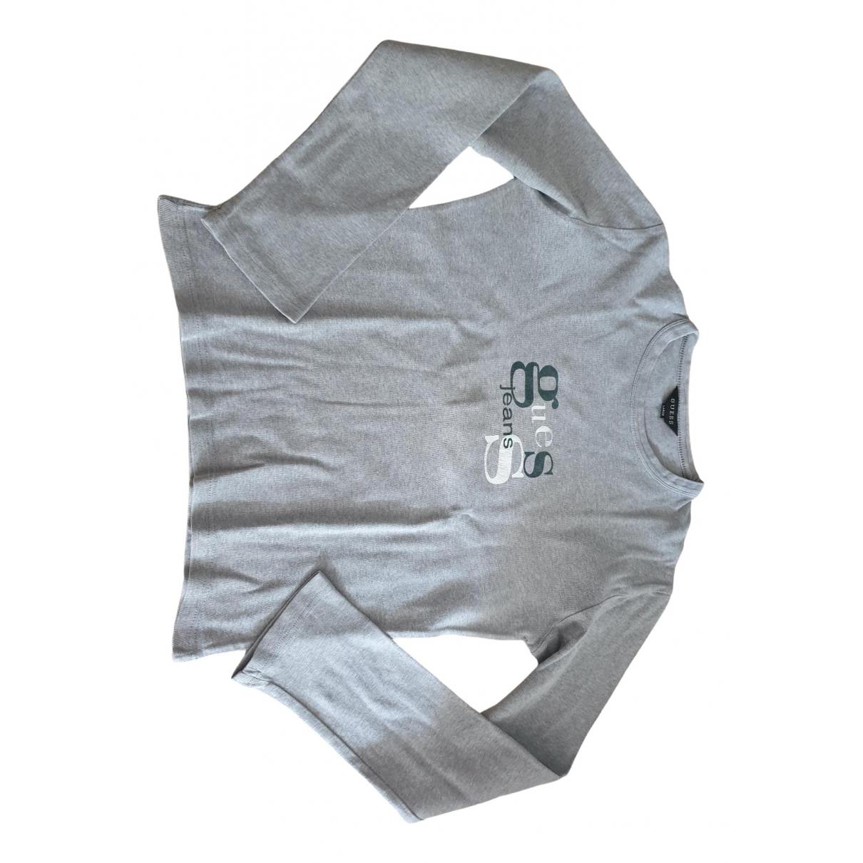 Guess \N Grey Cotton  top for Women L International