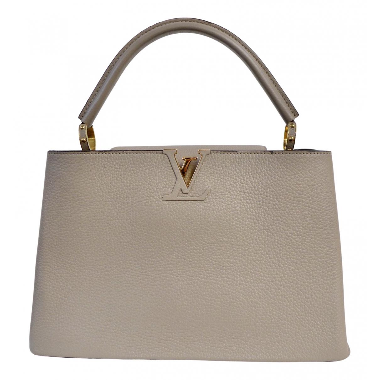 Louis Vuitton Capucines Leather handbag for Women \N