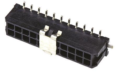 Molex , Micro-Fit 3.0, 43045, 22 Way, 2 Row, Straight PCB Header (5)