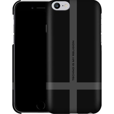 Apple iPhone 6s Plus Smartphone Huelle - TECHNO IS MY RELIGION  von Berlin Techno Collective
