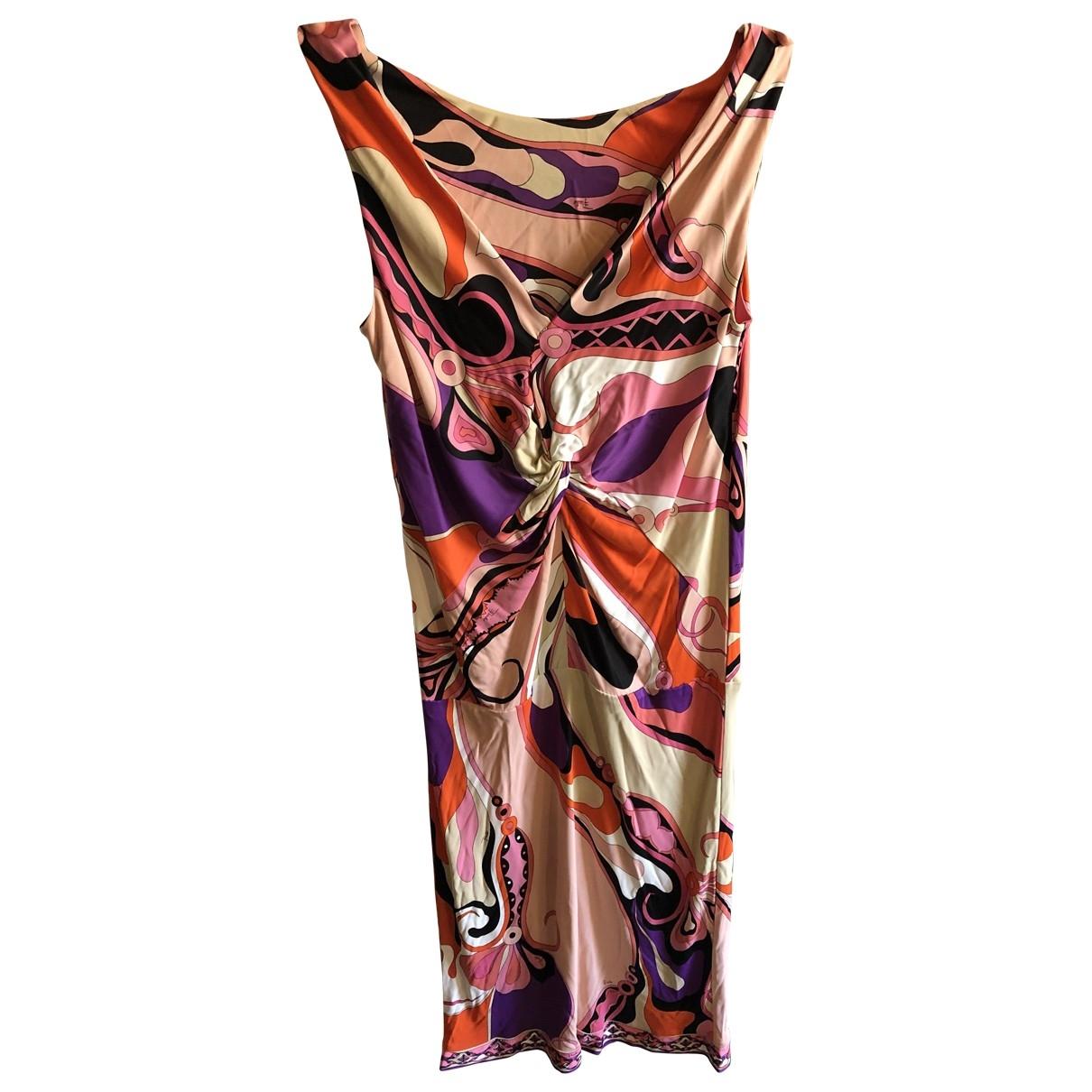 Emilio Pucci \N Multicolour dress for Women 44 IT