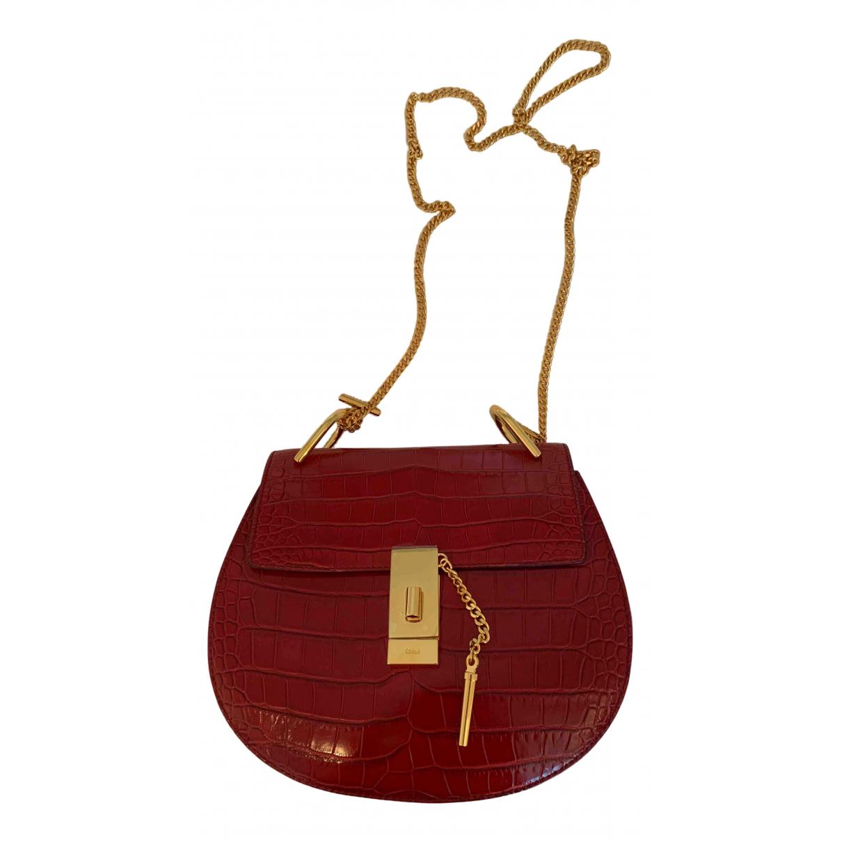 Chloé Drew Red Alligator handbag for Women \N