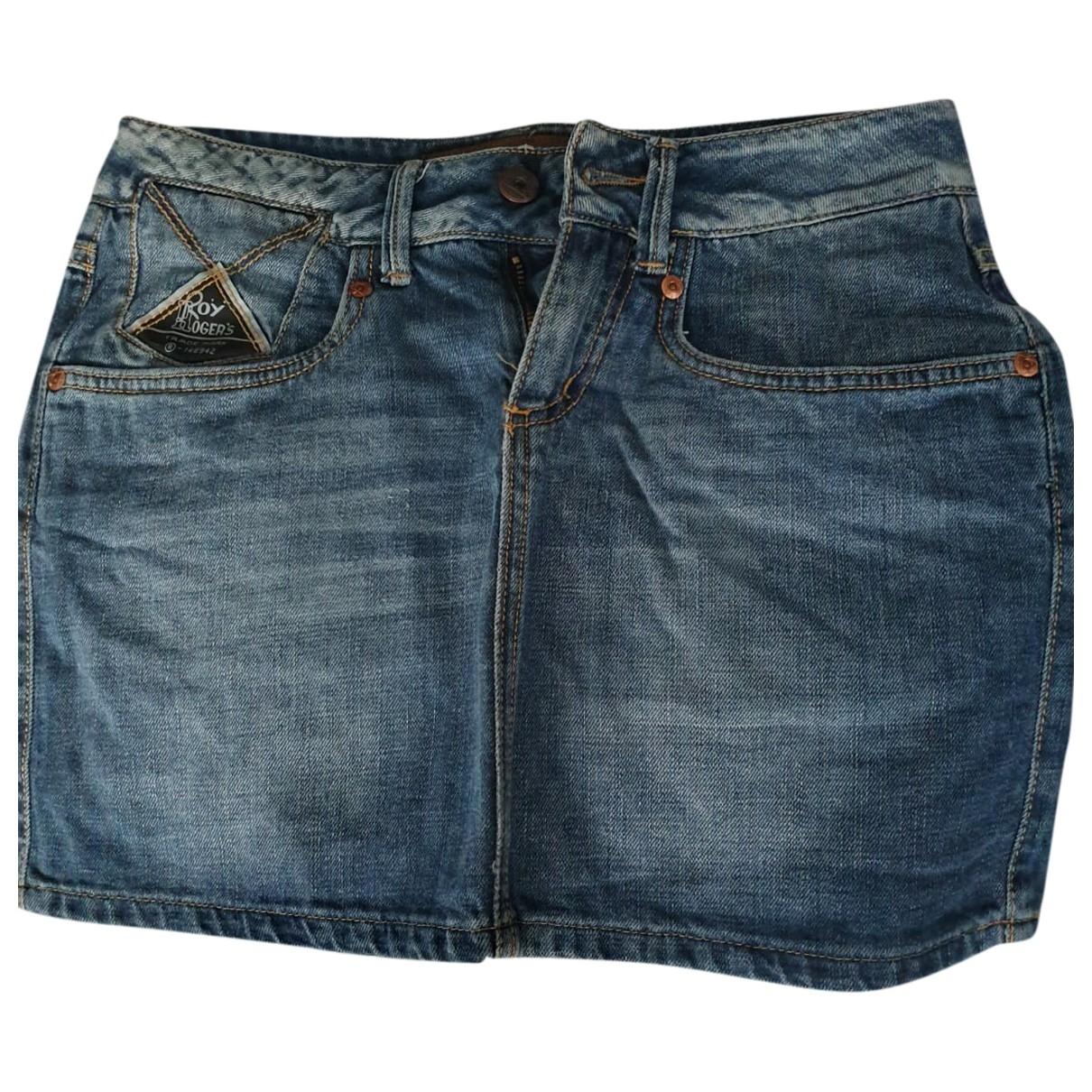Roy Rogers \N Rocke in  Blau Denim - Jeans