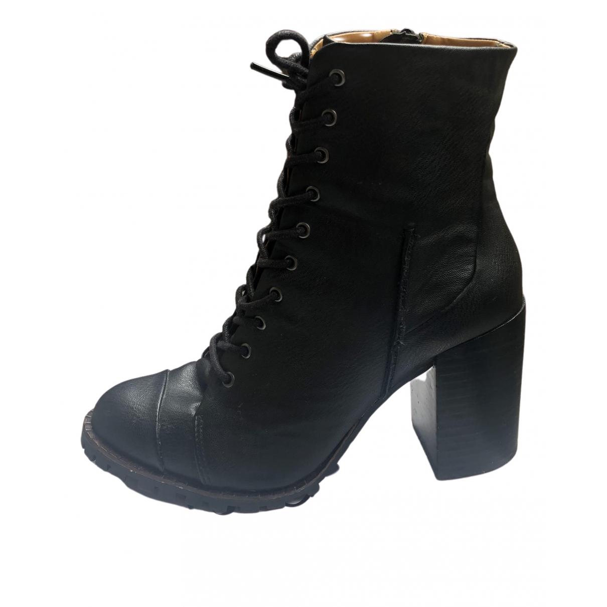 Steve Madden - Boots   pour femme - noir