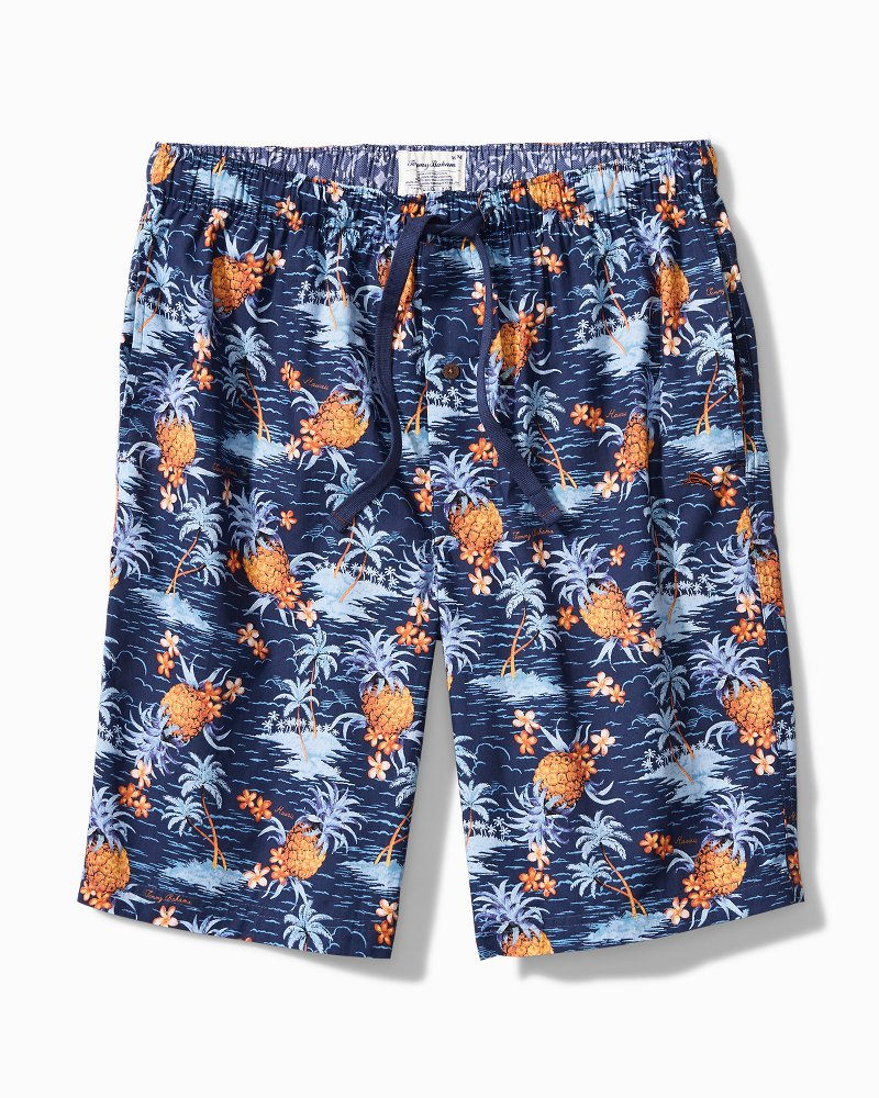 Pineapple Woven Lounge Shorts