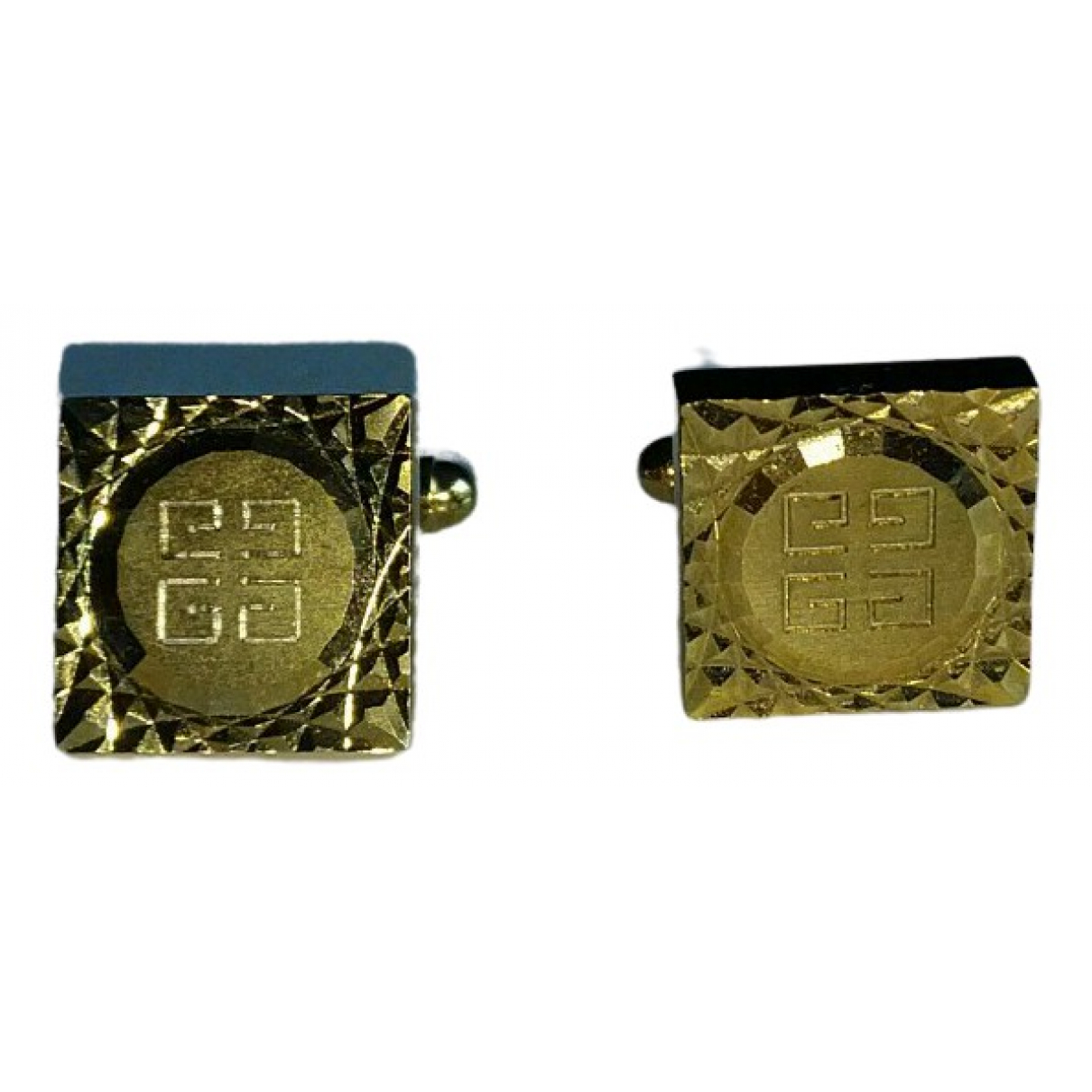 Givenchy \N Manschettenknopfe in  Gold Metall